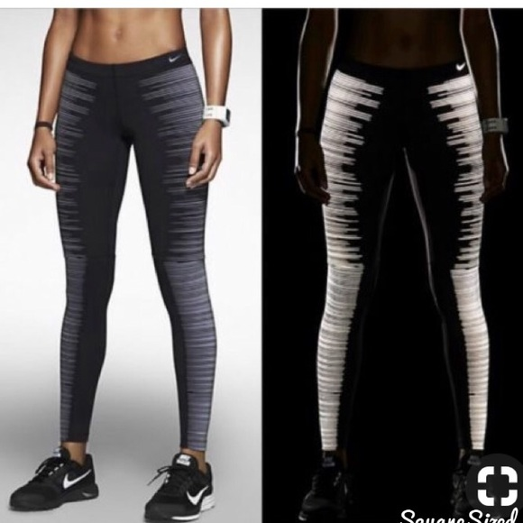 buy online hot product differently Nike Glow in the dark leggings